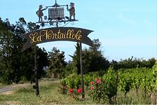 portail du domaine de la Ventaillole